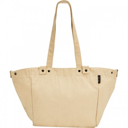 Electra Waxed Canvas Basket Bag Natural