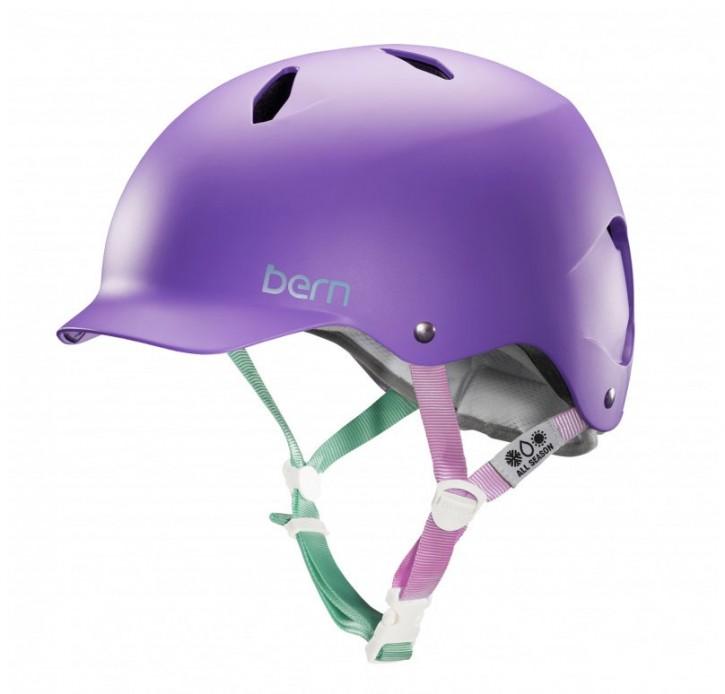 Bern Helm Bandita, matte purple