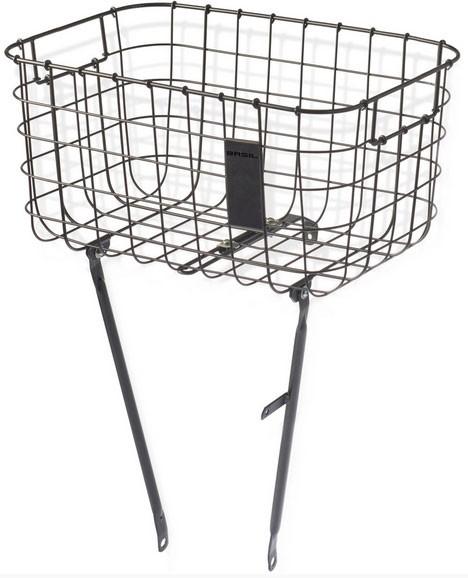 Basil Vorderradkorb Robin, matte black