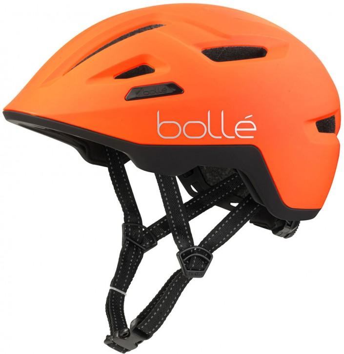 Bollé Stance Helm, matte hi-vis orange S (52-55 cm)