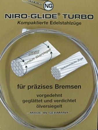 Bremszug Niro-Glide Turbo 800 mm