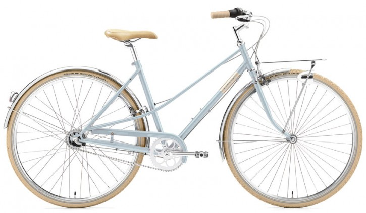 Creme Caferacer Ladies Solo 7 Speed seastone 52 cm