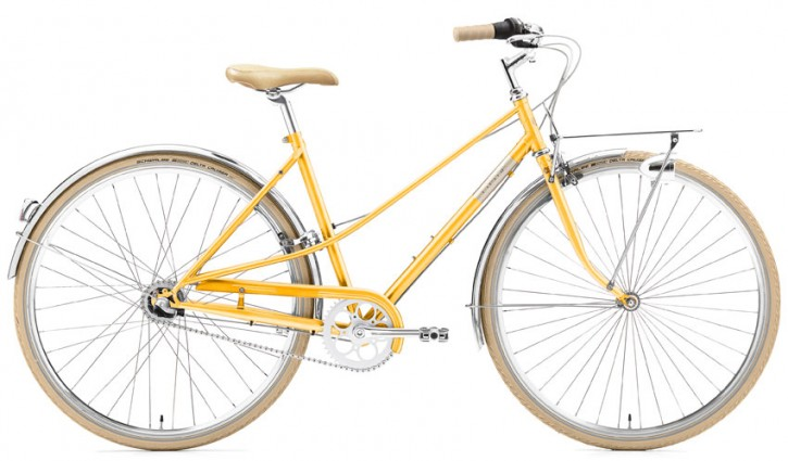 Creme Caferacer Ladies Uno 3 Speed sunny orange 52 cm