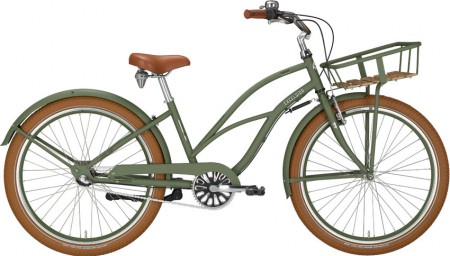 Excelsior Chillax Lady Cruiser, riflegreen matt
