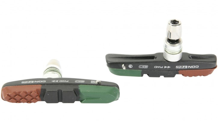 Bremsschuhe für V-Bremsen V-Stop 3D black, Contec