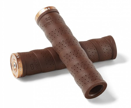 Creme Gummy Grips brown