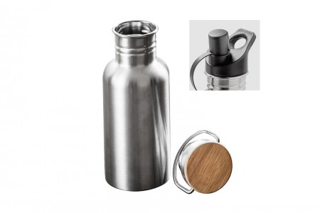 Trinkflasche Creme Stainless Steel Water Bottle 750 ml