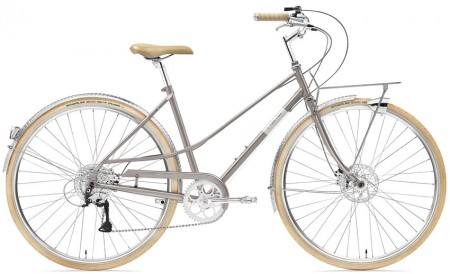 Creme Caferacer Ladies Solo Disc 9 Speed flat cafe 55 cm