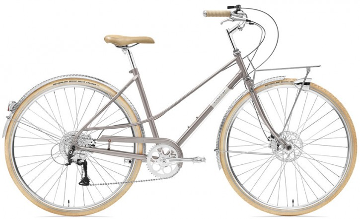 Creme Caferacer Ladies Solo Disc 9 Speed flat cafe