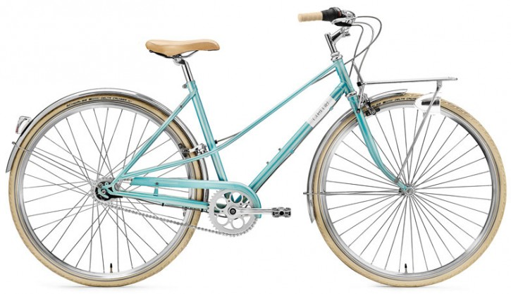 Creme Caferacer Ladies Solo 7 Speed turquoise