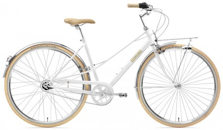 Creme Caferacer Ladies Solo 7 Speed white