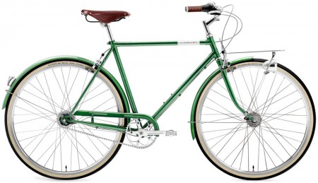 Creme Caferacer Men´s Doppio 7 Speed dark green Dynamo