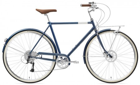 Creme Caferacer Man Solo 9 Speed Disc deep blue