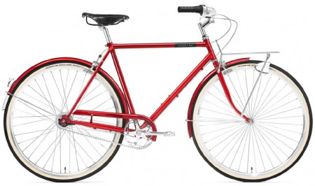 Creme Caferacer Men´s Doppio 7 Speed red