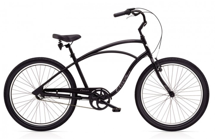 Electra Cruiser Lux 3i Men´s black satin