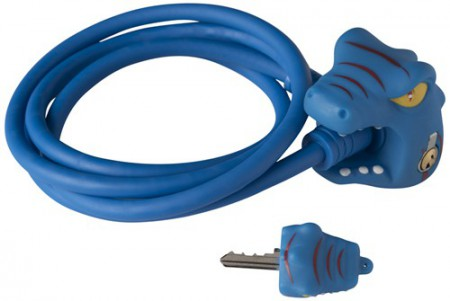 Kabelschloss Crazy Safety Blue Dragon