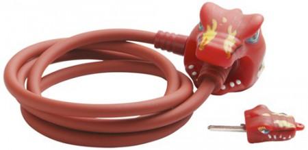 Kabelschloss Crazy Safety Red Dragon