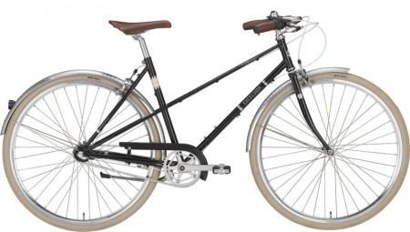Excelsior Vintage Damenrad 3-Gang, schwarz