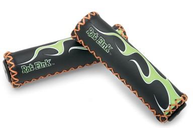 Griffe Rat Fink Flame Grips, black