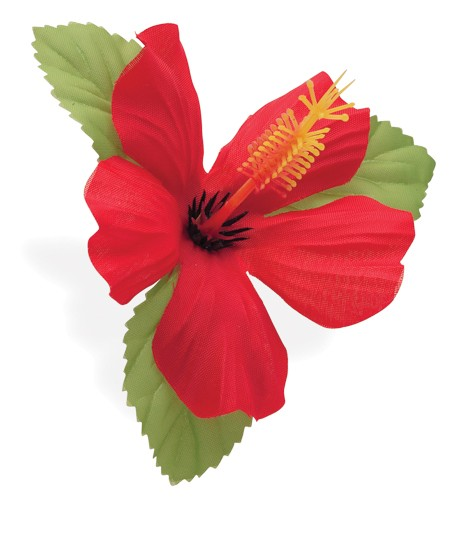 Handlebar Flower Red Hawaii