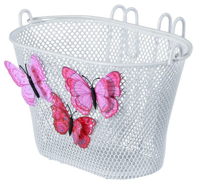 Basil Lenkerkorb Jasmin Butterfly, weiss