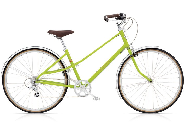 Electra Ticino 8D ladies kiwi green