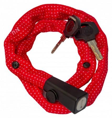 Liix Small Lock 60 cm Polka Dots red