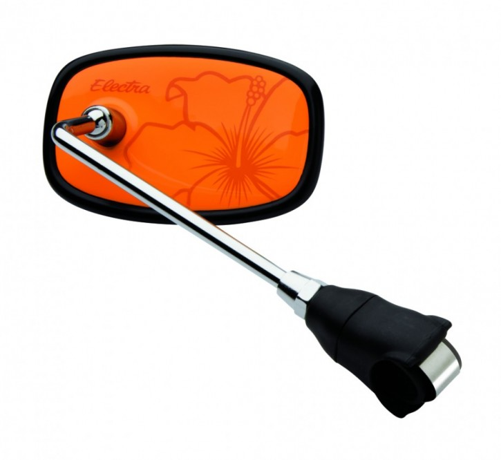 Handlebar Mirror Hawaii orange