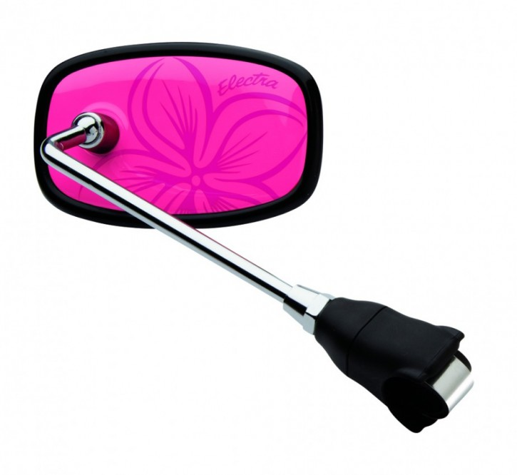 Handlebar Mirror Hawaii pink