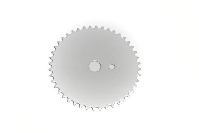 Kettenblatt Moon Disc silver