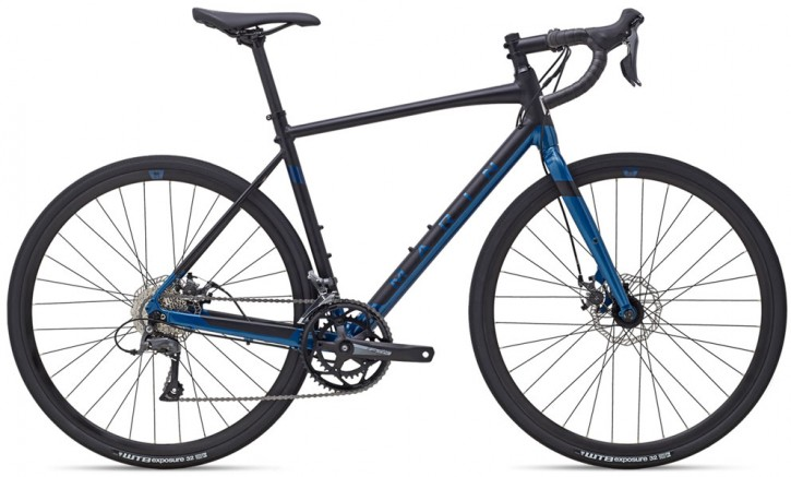 MARIN Gestalt gloss black/blue