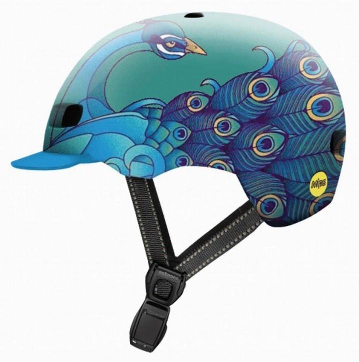 Nutcase Street MIPS Helm, Ruffled Feathers