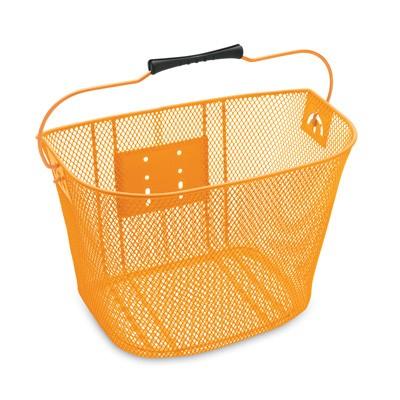 Electra Fahrradfrontkorb Quick Release, orange