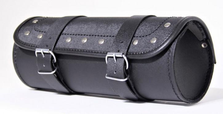 Werkzeugtasche, Echtleder schwarz