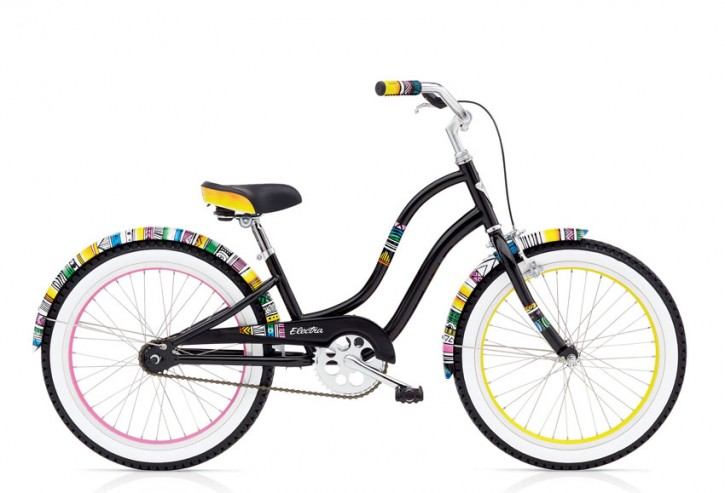 "Electra Kinderrad Savannah 20"" black ohne Schaltung, Eingang"