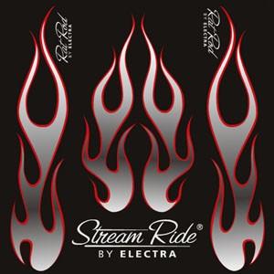 Stickerset Hot Rod Flames