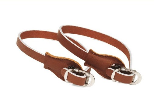 Toe Clip Straps dark brown, Electra