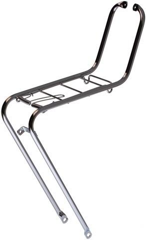 Vorderradgepäckträger 28´ Stahl, verchromt
