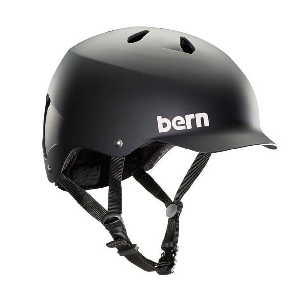 Bern Watts EPS Thin Shell satin black