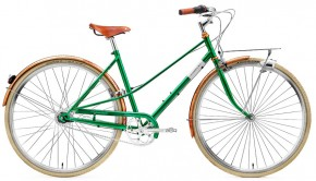 Creme Caferacer Ladies Doppio 7 Speed emerald green