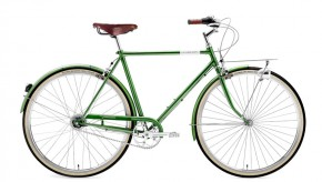 Creme Caferacer Men´s Doppio 7 Speed dark green