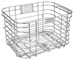Electra wired basket, silver