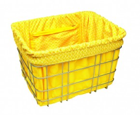 Electra Basket Liner TILES yellow
