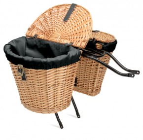 Electra Satteltaschenkorb Wicker Saddle Basket