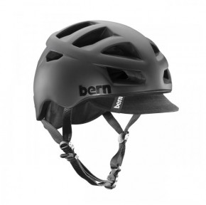 Bern Allston matte black w/ Visor