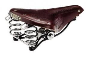 Sattel Brooks B66 Universal, braun