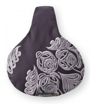 Sattelbezug Blossom Dark Purple