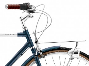 Creme Caferacer Men´s Doppio 7 Speed midnight blue Dynamo 49,5 cm