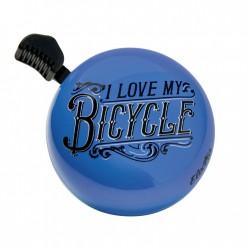 Klingel Domed Ringer I love my bycicle, Electra