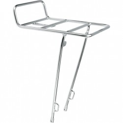 Electra Front Rack, silver